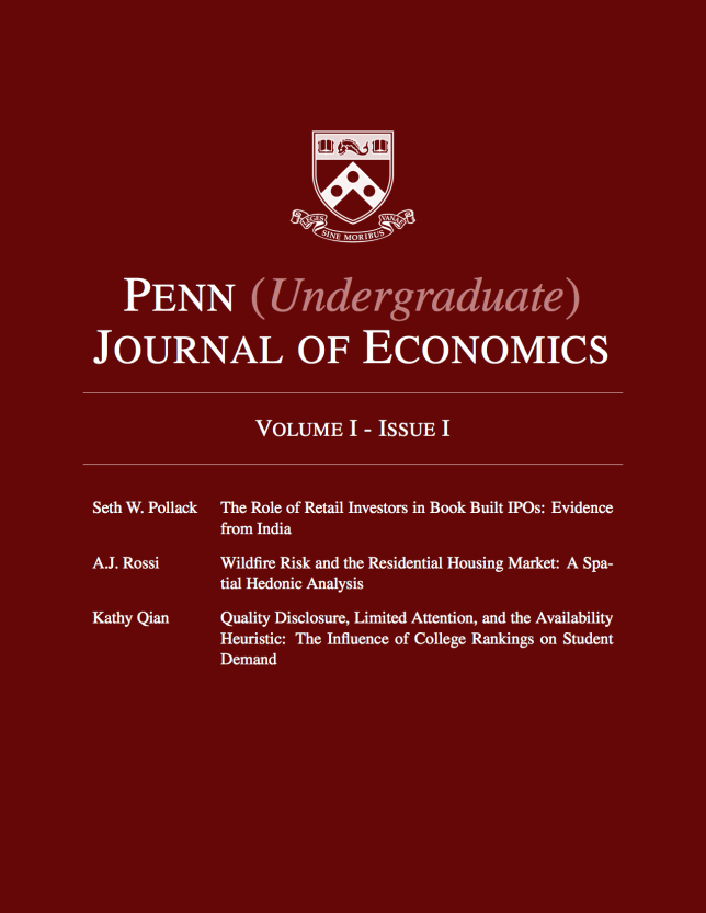 Vol. I, Issue 1